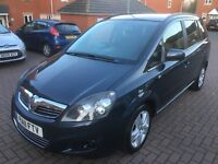 Vauxhall Zafira Exclusive Cdti 1.7 Diesel 1 Owner HPI Clear Great Condition