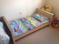 Bed Cot Mamas & Papas Modensa with mattress
