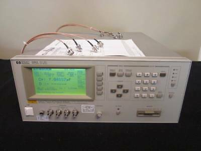 Hp Agilent 4284a 20hz-1mhz Precision Lcr Meter W Opt 001 006 - Calibrated