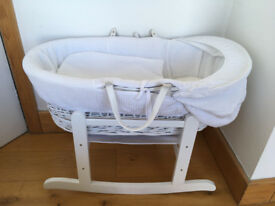 Brand new moses basket with standard and mattress
