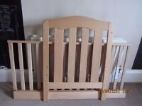 Toddler Bed Mamas and Papas 140/70 cm