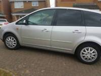 FORD C MAX 1.6DIESEL ,1 YEAR MOT ,SERVICE HISTORY ,CHEAP ON TAX ,BIG BOOT £845 ONO