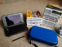 Nintendo 3DS XL + 13 Games (great condition)