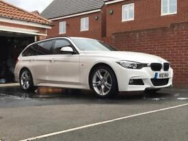 BMW 320D M Sport Touring - Tow bar and more extras - Immaculate