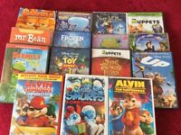 Children's DVD Selection.