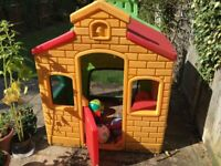 Tikes Town playhouse Evergreen (For 18months to 5 years children)