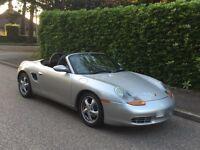 Porsche boxster 2.5.....silver