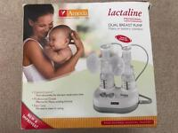 Ameda lactaline double breast pump