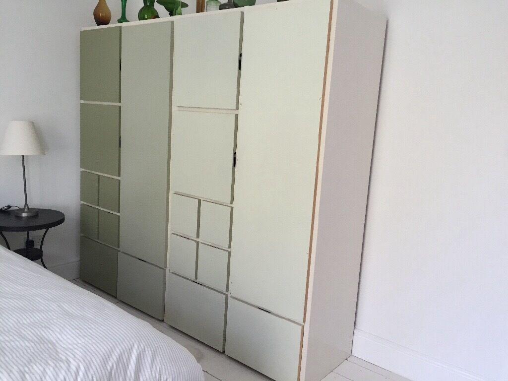 ikea black wardrobes garderobe begehbarer kleiderschrank und schne garderoben stuva wardrobe. Black Bedroom Furniture Sets. Home Design Ideas