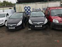 2x corsa d's make 1 good car out of the 2