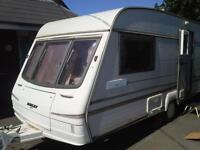 Bailey Pageant Magenta 1995 2 Birth Luxury Caravan