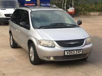 2004 CHRYSLER GRAND VOYAGER 2.5 CRD FULLY LOADED LEATHER ELECTRIC DOORS 7 SEATER DIESEL