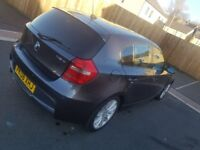 **BMW 1 SERIES 2008 118D MSPORT 5 DOOR GREY**