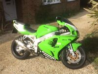 Kawasaki Zx7r 97' sports bike