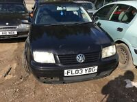 2003 VOLKSWAGEN BORA TDI (MANUAL DIESEL)- FOR PARTS ONLY