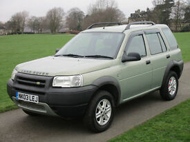 Land Rover Freelander 2.0 TD4 SE Station Wagon BEAUTIFUL 5 DR DIESEL AUTO FSH