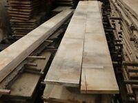 English oak planks/boards/cladding/beams