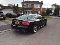 Audi A5 Black 2.7tdi - S LINE **BARGAIN** FULLY LOADED