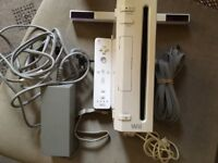 Nintendo wii console complete with wii remote