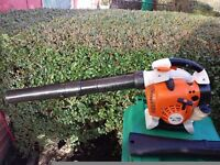 stihl sh86 petrol leaf,snow blower/shredder,as bg86,BG66,bg85,sh85,SEE VIDEO