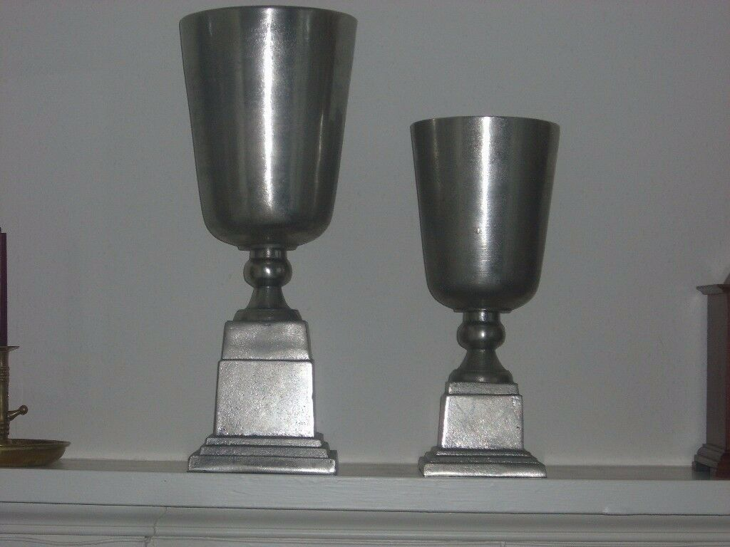 Pair of large silver vases in perth perth and kinross gumtree pair of large silver vases reviewsmspy