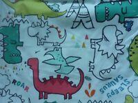 Dinosaur curtains from Next