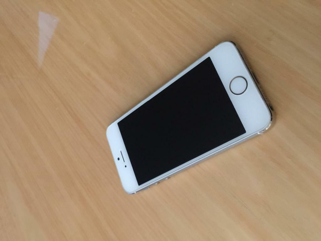 Iphone 5s 16gb White With Box Apple Iphone 5s White Gold