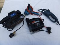 SELECTION OF ELECTRIC POWER TOOLS - USED