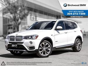 2017 BMW X3 Xdrive28i Local One Owner! Accident Free!