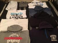 Men's XXL Bundle McKenzie Nike Henley Tshirts Jacket Hoodies & Shirt