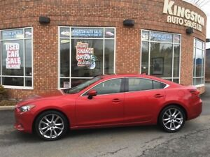 2014 Mazda MAZDA6 GT - FULLY LOADED W/ ADVANCED SAFETY FEAT.