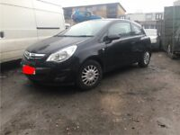VAUXHALL CORSA, 1.0, PETROL, 2011 (61 PLATE), BREAKING FOR SPARES