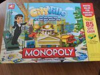 Hasbro Monopoly Cityville Board Game