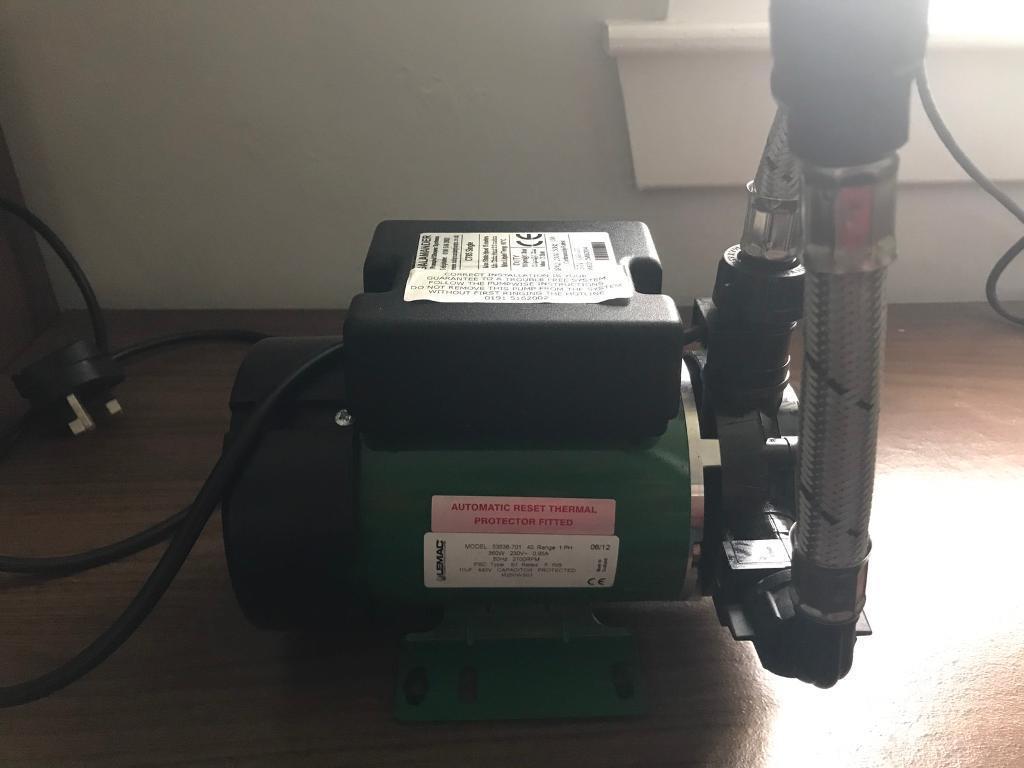Salamander CT85 single impeller shower pump
