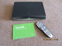 Sky+HD Box with Remote control and Instruction Book
