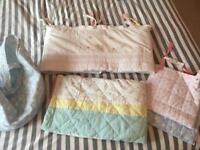Jools little bird nursery bedding set