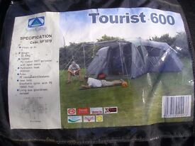 Tent for sale. Sunncamp Tourist 600 Six berth tent.