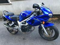 Suzuki SV650sy 12 months MOT beautiful condition 22k