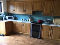 Oak kitchen good condition