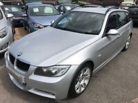 2008/08 BMW 2.0 DIESEL M SPORT ESTATE, STUNNING LOOKS AND PERFORMANCE, PRACTICAL FAMILY ESTATE CAR