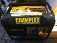 Champion CPG 3500 2800w 4 stroke petrol generator.