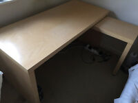 IKEA Malm birsch desk