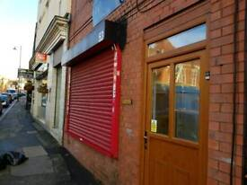 SHOP TO LET WEDNESBURY. 3 PHASE ELECTRICS ROLLER SHUTTER 3 ROOMS TOILETS CELLAR DOUBLE GLAZED