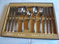 24 piece stainless steel cutlery set - 6 place settings