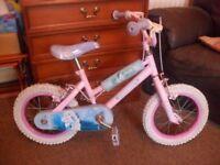 Girl's pretty as a princess bike