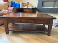 Solid wood (acacia) coffee table
