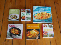 Cooking Books: Various