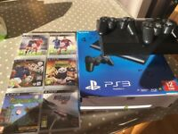 PS3 and 6 games