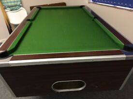 used Full size pool table