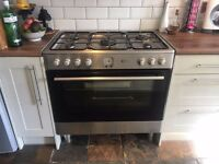 Flavel Double Oven- Silver